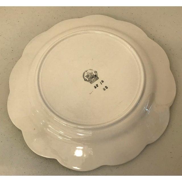 Italian Este Trompe L'Oeil Olive Plate For Sale - Image 9 of 10