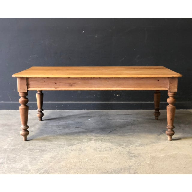 Antique French Farm Table For Sale In New York - Image 6 of 8