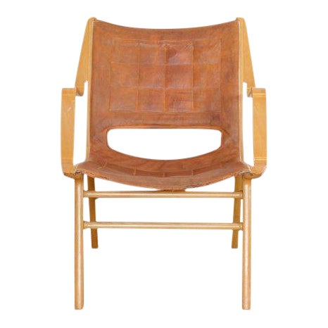 Ax Lounge Chair by Peter Hvidt & Orly Mølgaard-Nielsen, 1947 For Sale