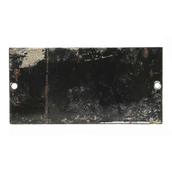 "Black & White ""Tension De Service"" Sign For Sale - Image 4 of 4"