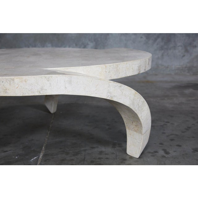 """1990s 1990s Post-Modern Tessellated Cantor Stone """"Hurricane"""" Coffee Table For Sale - Image 5 of 10"""