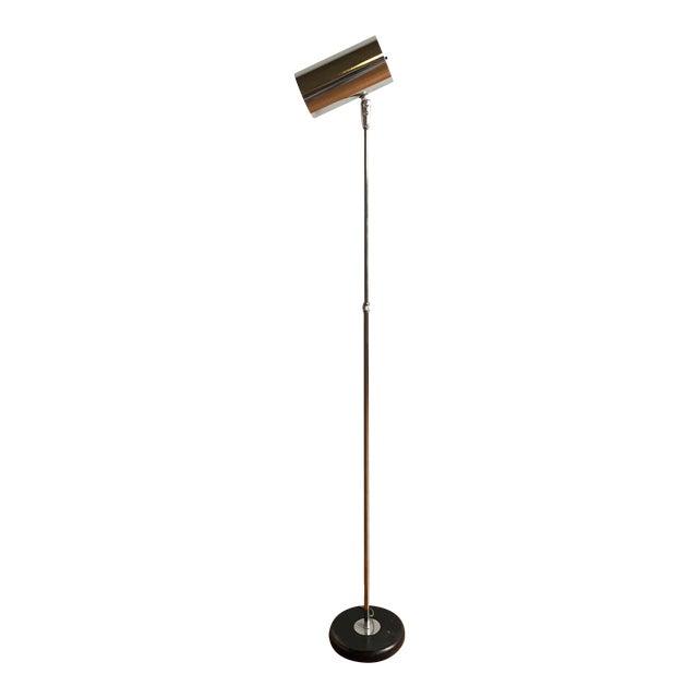 Vintage Mid Century Modern Adjustable Chrome Floor Lamp - Image 1 of 6