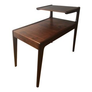 1960s Scandinavian Modern Kurt Østervig Two Tier End Table For Sale