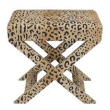 Image of X Bench in Leopard For Sale