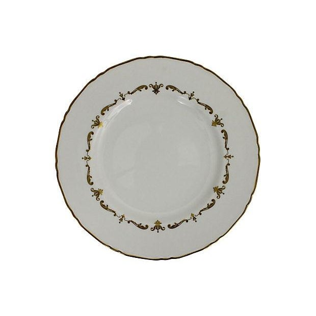 Royal Worcester Gilded Plates - Pair - Image 4 of 6