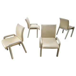 """Guido Faleschini """"Dilos"""" Dining Chairs by I4 Mariani for Pace - Set of 4 For Sale"""