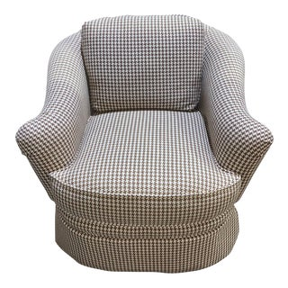 Taylor & King Hound Stooth Rocking Chair For Sale