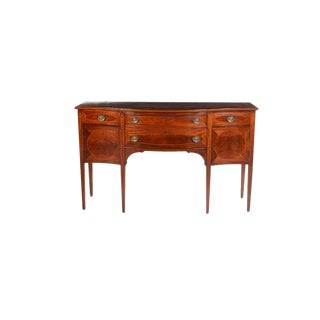Vintage Hepplewhite Style Mahogany Sideboard For Sale