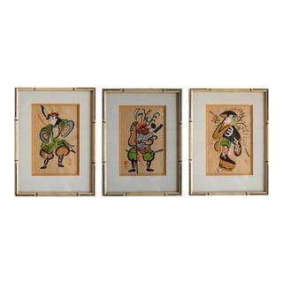 Shozan Takahashi Prints - Set of 3 For Sale