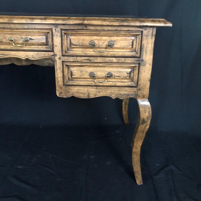 French Provincial Country French Provincial Desk by Guy Chaddock For Sale - Image 3 of 13
