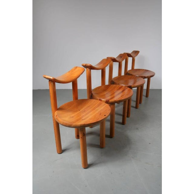 Set of Four Dining Chairs by Rainer Daumiller for Hirtshals Sawmill, Denmark - Image 2 of 8
