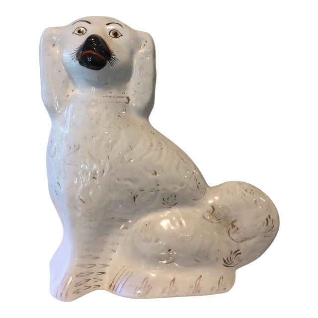 19th C. Staffordshire Dog Figurine For Sale
