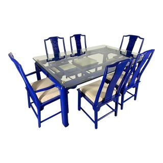 Chin Hua Asian Dining Set by Raymond Sabota for Century Furniture For Sale