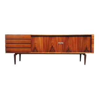A Danish Modern Model 223/3 Pamir Series Rosewood Sideboard by H.W.Klein for Bramin For Sale