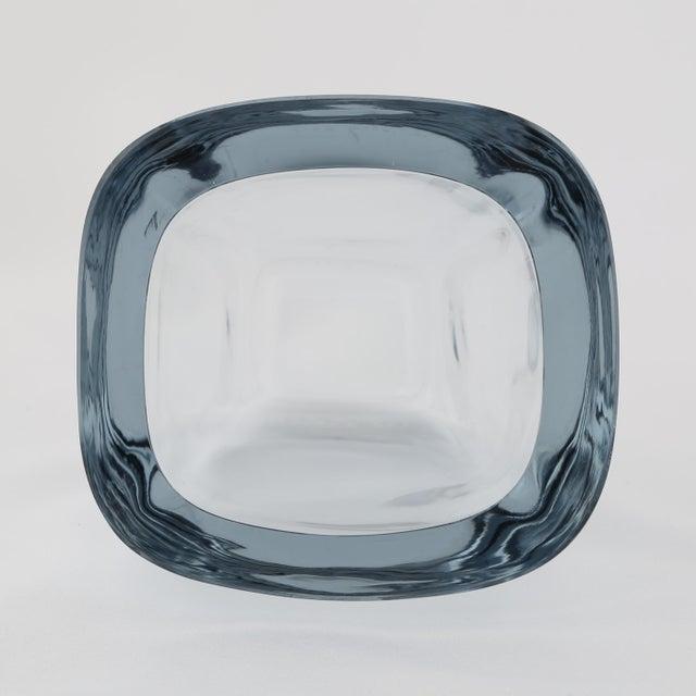1950's VINTAGE STROMBERGSHYTTAN GLASS VASE For Sale In New York - Image 6 of 8