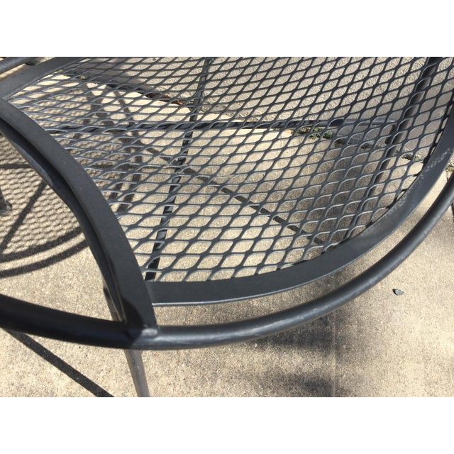 Salterini Outdoor Patio Dining Table & Chairs- Set of 5 - Image 4 of 6
