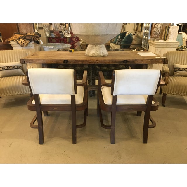 Mid-Century Modern Pair of Mid Century Armchairs For Sale - Image 3 of 10