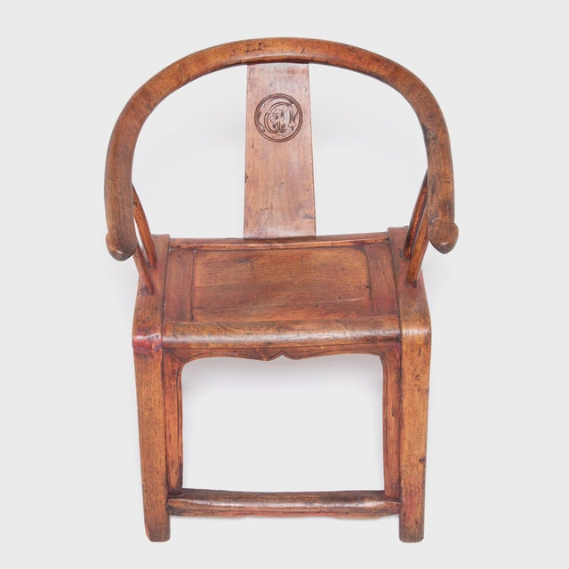 Mid 19th Century 19th Century Chinese Bentwood Roundback Chair For Sale - Image 5 of 7