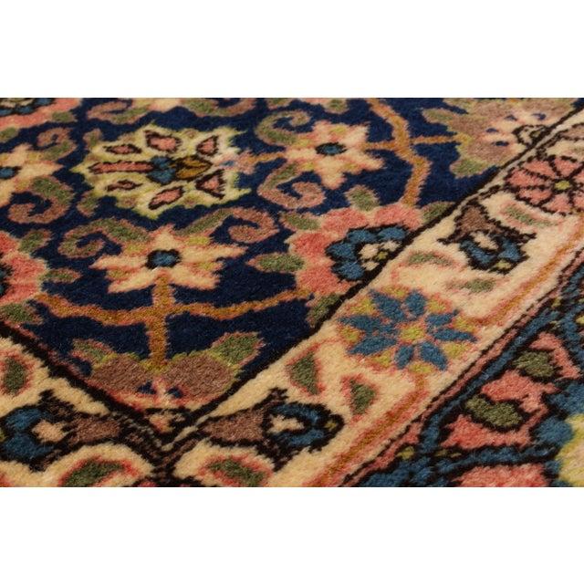 """Varamin Vintage Persian Rug, 4'11"""" x 6'9"""" - Image 2 of 2"""
