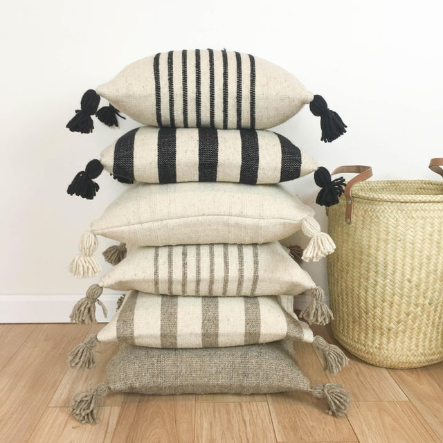 Delgado Striped Pillow - Image 3 of 6