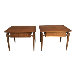 1970s Mid Century Modern Nightstand and Tables - a Pair For Sale