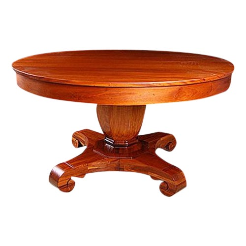 Brown & Simonds Antique Mahogany Dining Table For Sale