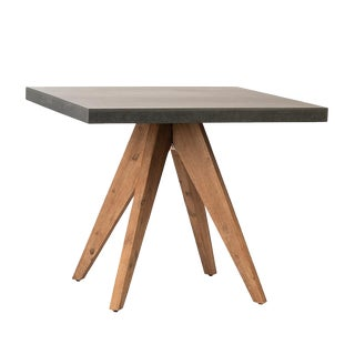 Outdoor Modern Farmhouse Bistro Table For Sale