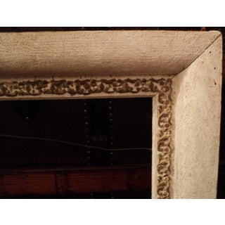 Antique White & Gold Color Gilded Ornate Wooden Picture Frame Preview