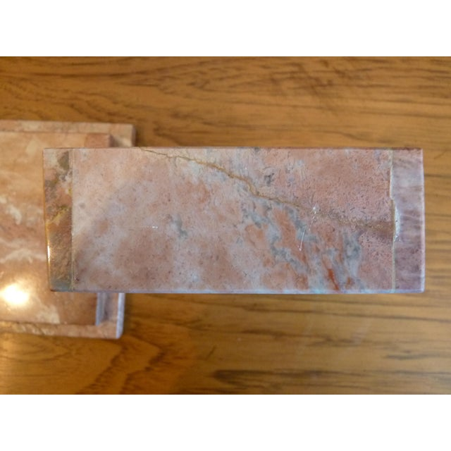 Marble Pink Marble Box For Sale - Image 7 of 9