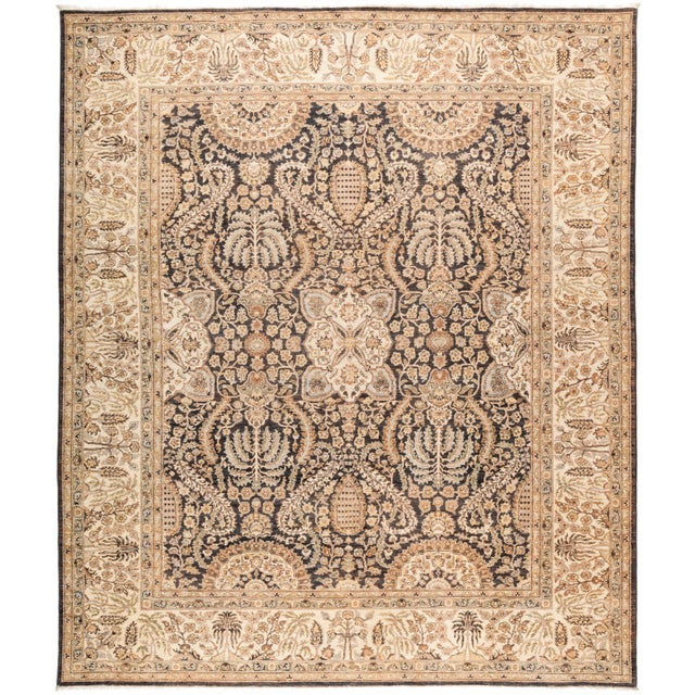 "Oushak Hand Knotted Area Rug - 8' 0"" X 9' 7"" - Image 4 of 4"