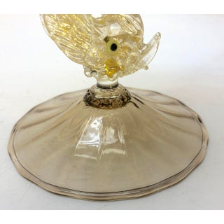 1970s Murano Glass Fish Compote Bowl Vase Preview