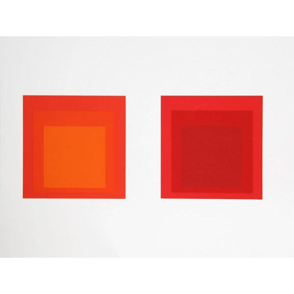 "Modern Josef Albers ""Portfolio 2, Folder 28, Image 2"" Print For Sale - Image 3 of 3"