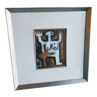Framed Female Nude #1 Painting For Sale
