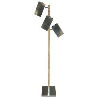 Robert Sonneman 3 Cube Floor Lamp 1970's For Sale