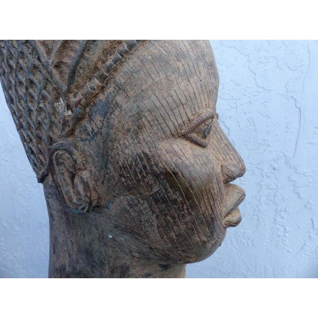 Bronze Head of an Ife Queen Mother - Image 9 of 9