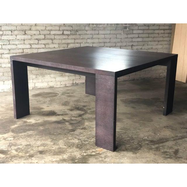 Wood Mid-Century Modern B&b Italia Maxalto 'Apta' Dining Table For Sale - Image 7 of 13