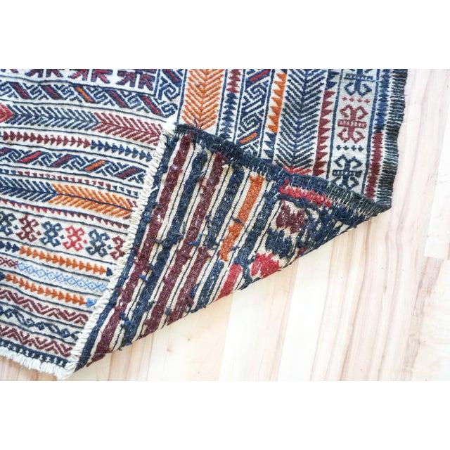 Vintage Turkish Kilim Rug - 3′11″ × 6′2″ - Image 6 of 7