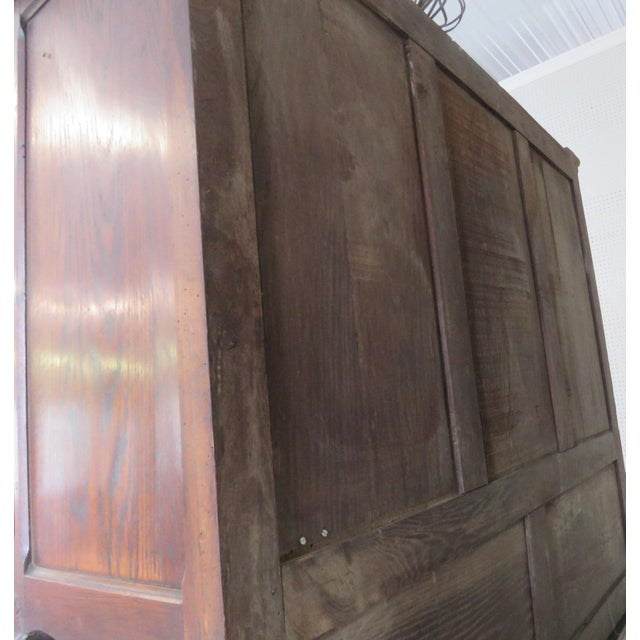 Early 20th Century Louis XV Style Normandy Cupboard For Sale - Image 5 of 13