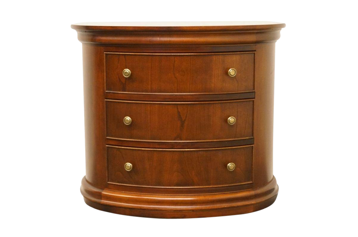 Hekman Furniture Cherry Oval Accent Chest