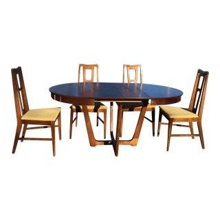 Mid Century Bassett Dining Room Table Chairs