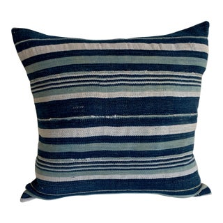 Mid-Century Modern Striped Pillow Cover For Sale