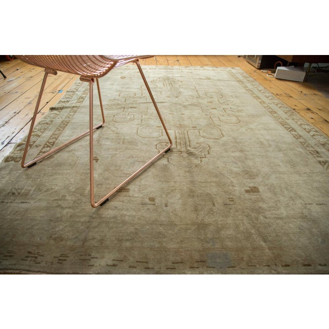 "Vintage Oushak Carpet - 5'8"" X 8'3"" - Image 4 of 10"