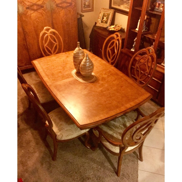 Thomasville Thomasville Villa Soleil Dining Set For Sale - Image 4 of 7
