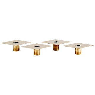 Set of 4 Candleholders by Sigurd Persson For Sale