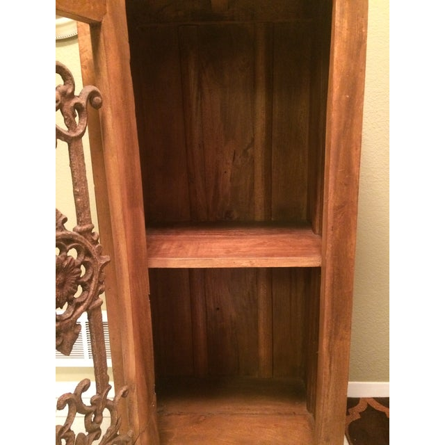 Teak Bookcase Cabinet - Image 4 of 4