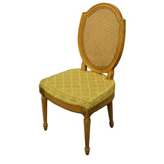 Late 20th Century Thomasville Furniture Belvedere Collection Italian Provincial Cane Back Chair Preview