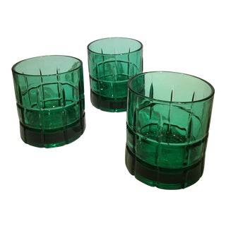 Tartan Old-Fashioned Glass - Set of 3