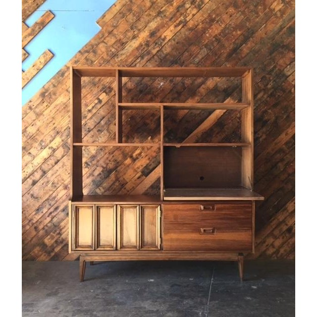 Mid Century Wall Unit Room Divider - Image 6 of 7