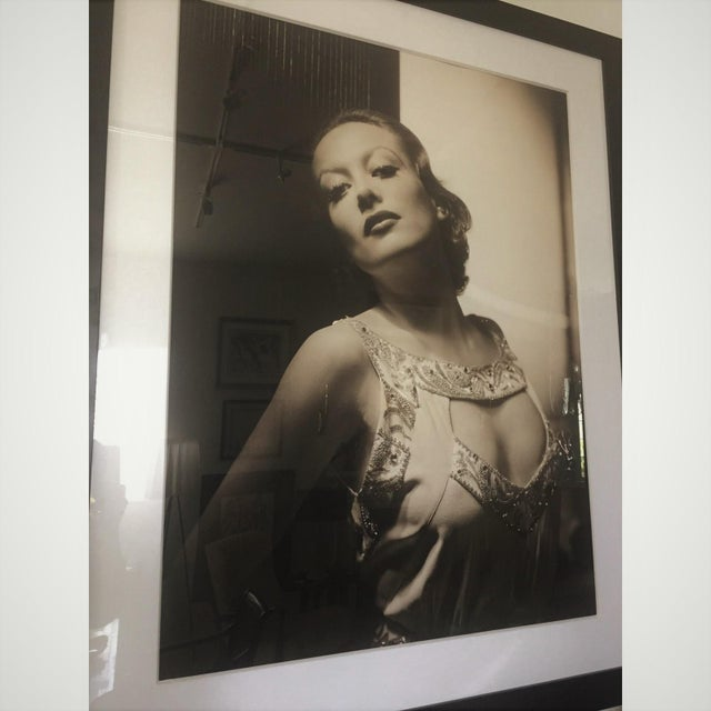 Vintage 2000 George Hurrell Joan Crawford Digital Photograph From 1932 Restored Negative For Sale - Image 9 of 13