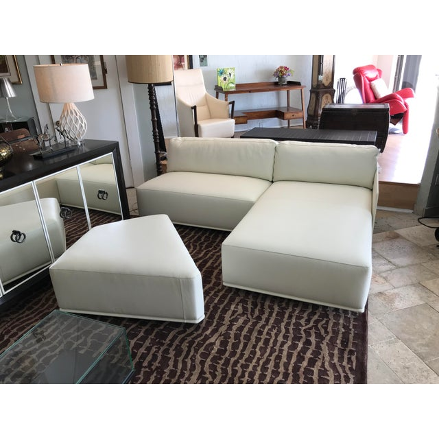 2010s Poltrona Frau Cassiopea Sofa For Sale - Image 5 of 10